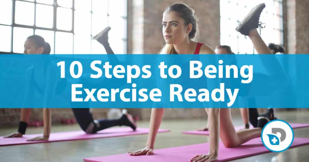 10 steps to being exercise ready