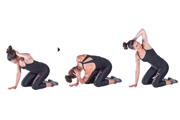 10 steps to being exercise ready mid back rotation exercise