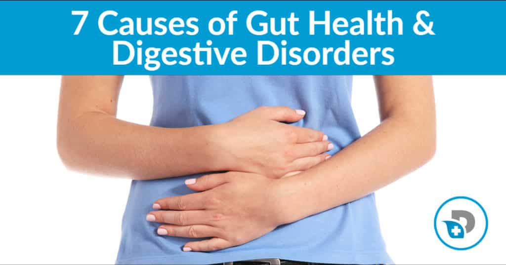 7 Causes of Gut Health & Digestive Disorders