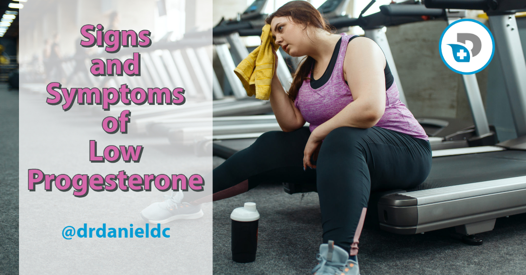 signs and symptoms of low progesterone